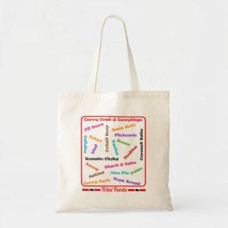 トリニダードトバゴの支部の食糧 トートバッグ