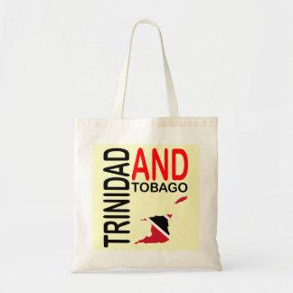 トリニダードトバゴの旗の地図 トートバッグ