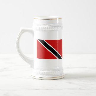 トリニダードトバゴの旗の~の地図のマグ ビールジョッキ