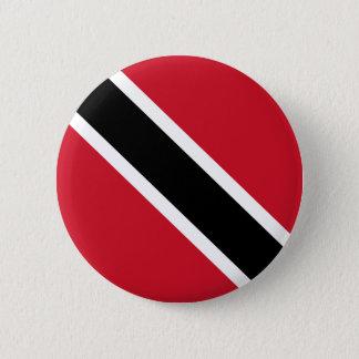 トリニダードトバゴの旗ボタン 缶バッジ