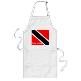 トリニダードトバゴの旗 ロングエプロン
