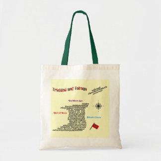 トリニダードトバゴの町および村 トートバッグ