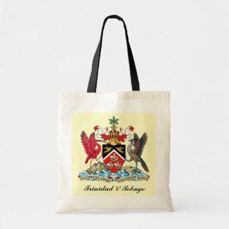 トリニダードトバゴの紋章付き外衣 トートバッグ