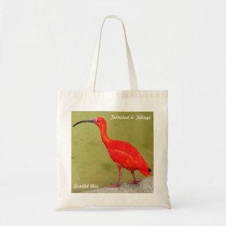 トリニダードトバゴの赤い深紅トキ亜科 トートバッグ