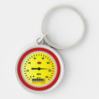 トリニダードトバゴ車の速度計 キーホルダー