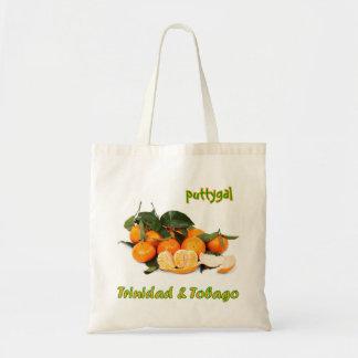 トリニダードトバゴPuttygalのフルーツ トートバッグ