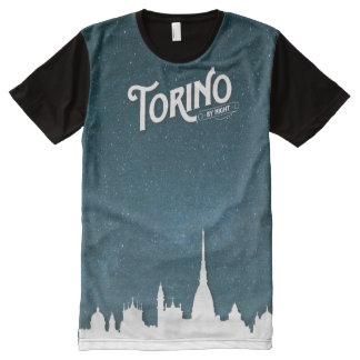 トリノ-プリントのTシャツをくまなく… オールオーバープリントT シャツ