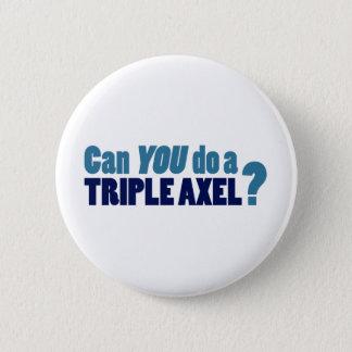 トリプルアクセルをすることができますか。 5.7CM 丸型バッジ