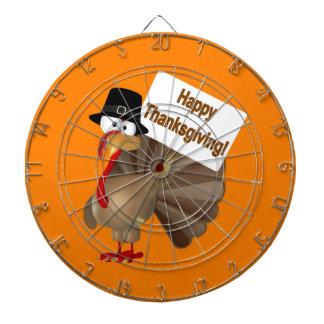 """トルコのおもしろいな発言: """"幸せな感謝祭! """" ダーツボード"""