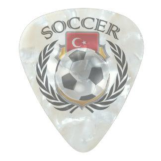 トルコのサッカー2016ファンのギア パールセルロイド ギターピック