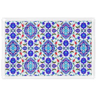 トルコのタイルによってインスパイアデザイン アクリルトレー