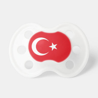 トルコの国民の世界の旗 おしゃぶり