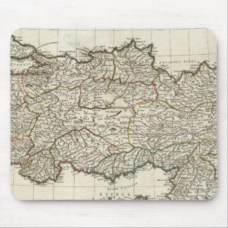 トルコの地図 マウスパッド