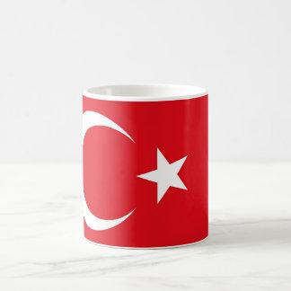トルコの旗が付いているマグ コーヒーマグカップ