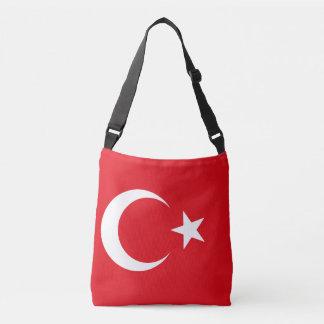 トルコの旗 クロスボディバッグ