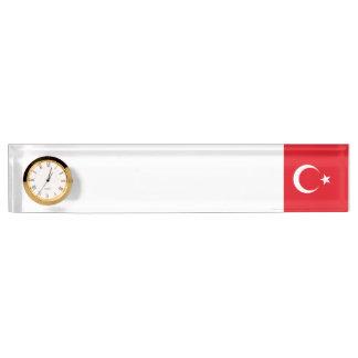 トルコの旗 デスクネームプレート