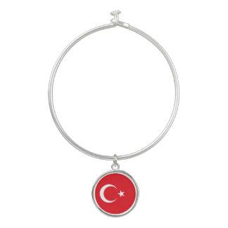 トルコの旗 バングルブレスレット