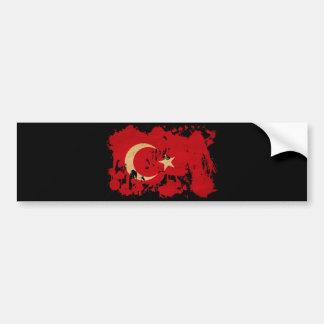 トルコの旗 バンパーステッカー