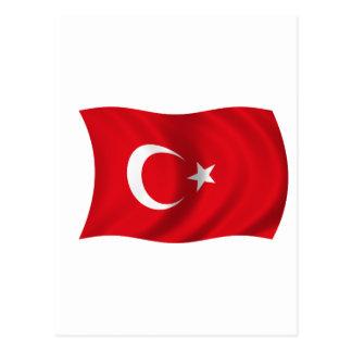 トルコの旗 ポストカード