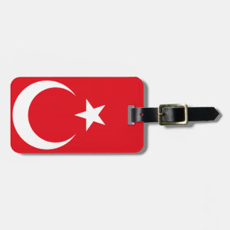 トルコの旗 ラゲッジタグ