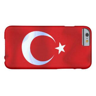 トルコの旗 BARELY THERE iPhone 6 ケース