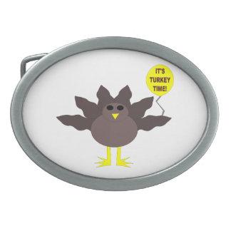 トルコの時間感謝祭のベルトの留め金 卵形バックル