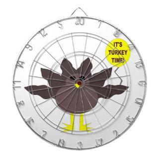 トルコの時間感謝祭の投げ矢板 ダーツボード