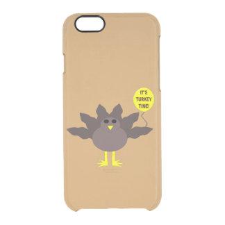 トルコの時間感謝祭のiPhoneの場合 クリアiPhone 6/6Sケース