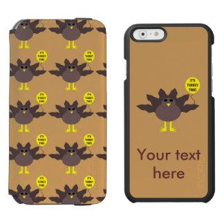 トルコの時間感謝祭のiPhoneの場合 iPhone 6/6sウォレットケース
