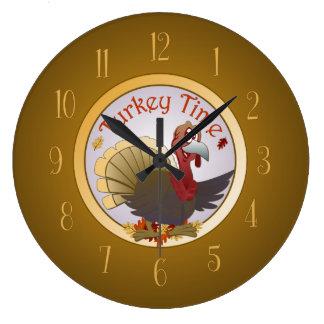 トルコの時間 ラージ壁時計