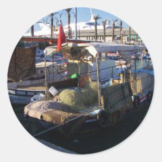 トルコの漁船 ラウンドシール
