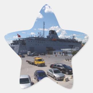 トルコの病院船 星シール