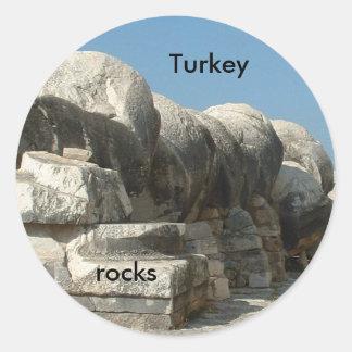 トルコの石 ラウンドシール