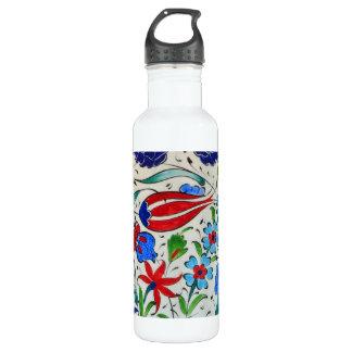 トルコの花柄 ウォーターボトル