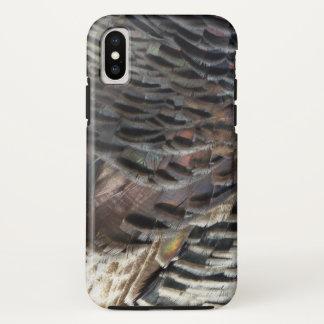 トルコの野生の羽私は自然のデザインを抽出します iPhone X ケース