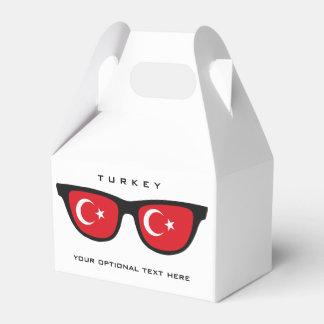 トルコの陰カスタムな文字及び色の好意箱 フェイバーボックス