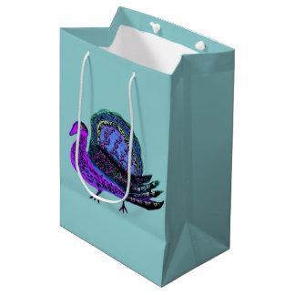 トルコの青のギフトバッグ ミディアムペーパーバッグ