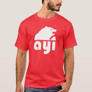 トルコの(Ayı) Sくま Tシャツ