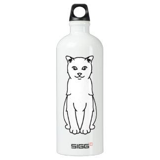 トルコのVankedisi猫の漫画 ウォーターボトル