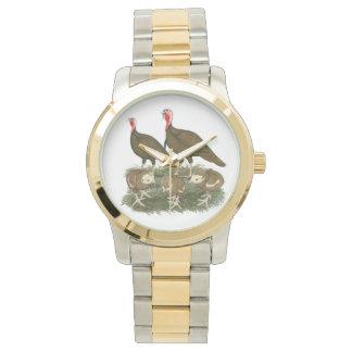 トルコチョコレート家族 腕時計