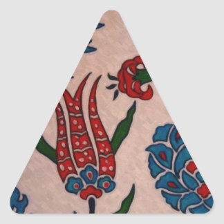 トルコ人のタイル2 三角形シール