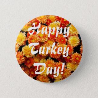 トルコ幸せな日! 5.7CM 丸型バッジ