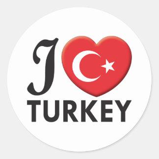 トルコ愛 ラウンドシール