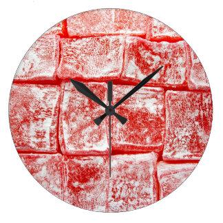 トルコ菓子 ラージ壁時計