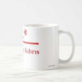トルコ語の名前のキプロスの北の旗 コーヒーマグカップ