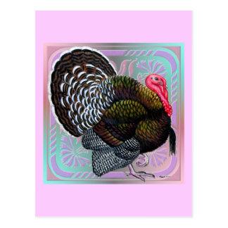 トルコ:  花の青銅色のトム ポストカード