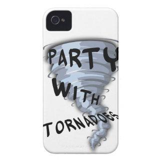 トルネードのパーティー Case-Mate iPhone 4 ケース
