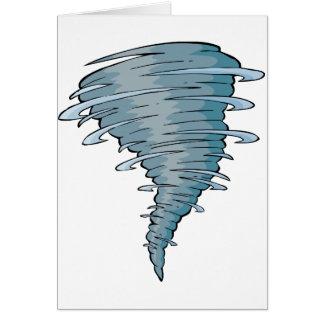 トルネード挨拶状 カード