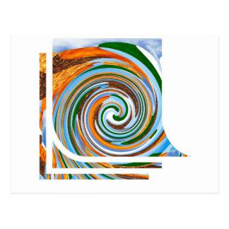 トルネード改革の波: 美しい自然Blaast ポストカード