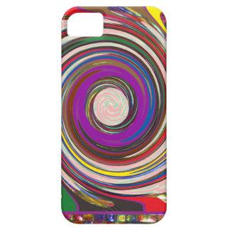トルネード旋風HighTideは多彩な芸術を振ります iPhone SE/5/5s ケース